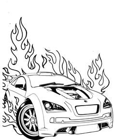 236x289 Hot Wheels Racing League Hot Wheels Coloring Pages