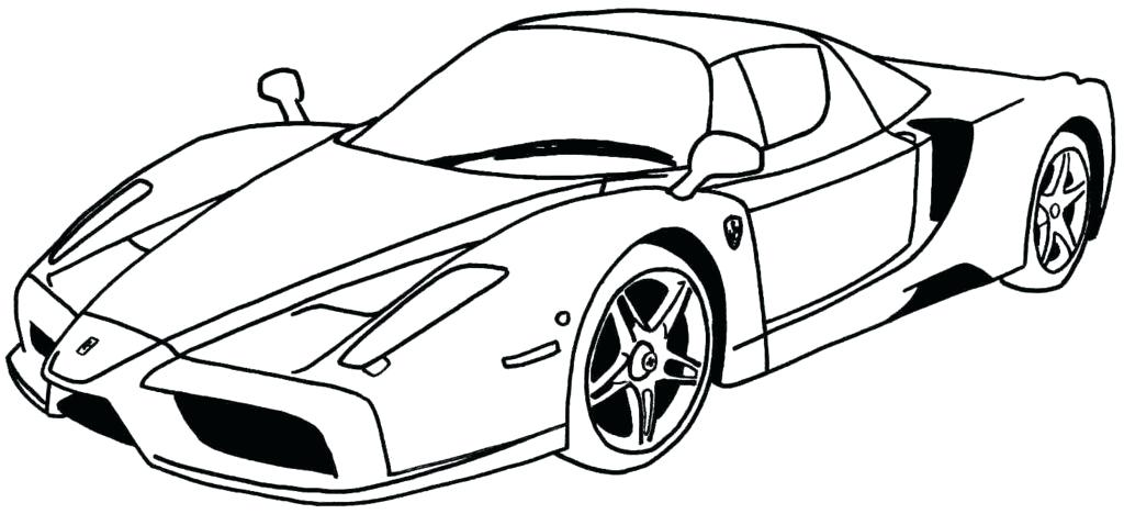 1024x468 Model Car Coloring Pages Coloring Car Pictures Classic Car