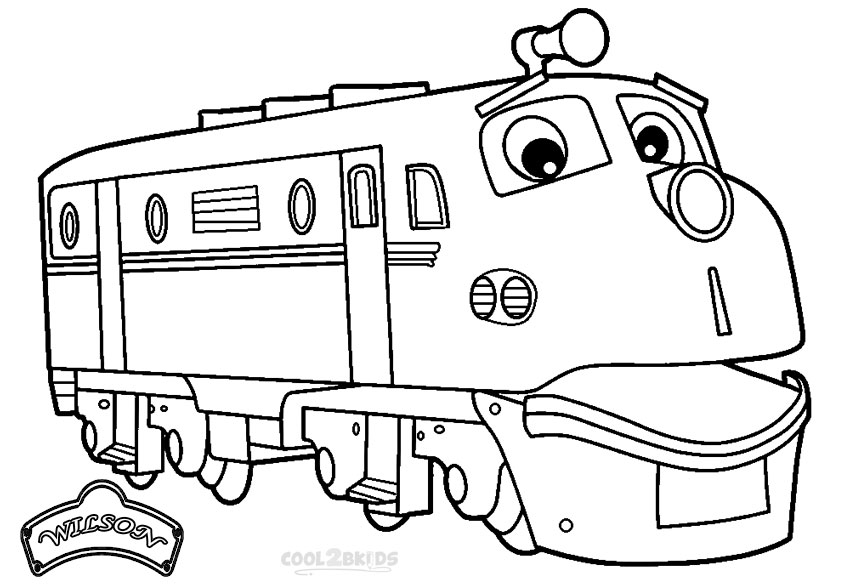850x585 Printable Chuggington Coloring Pages For Kids