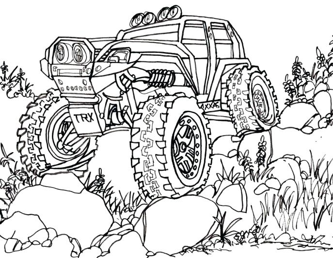 687x531 Rc Car Coloring Pages Click To See Printable Version Of Coloring