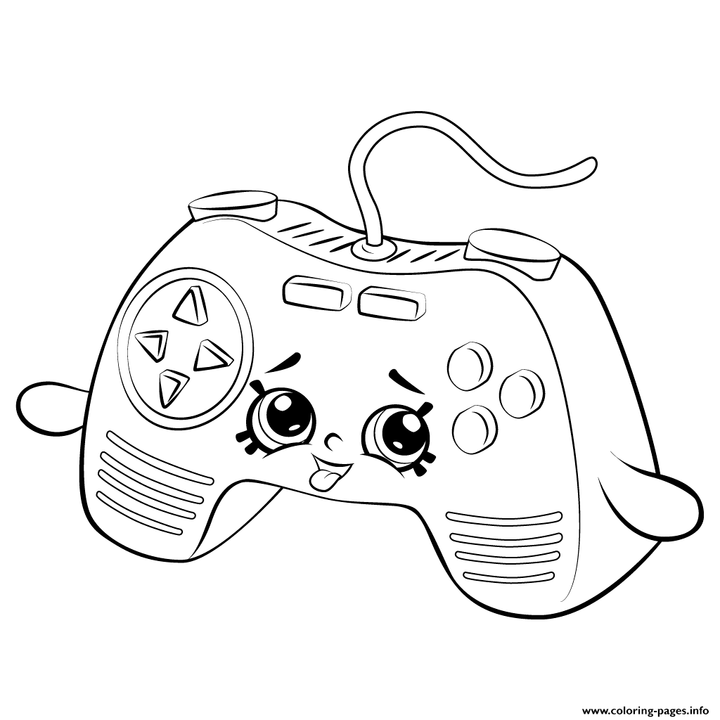 1024x1024 Print Remote Game Shopkins Season Coloring Pages Shopkins