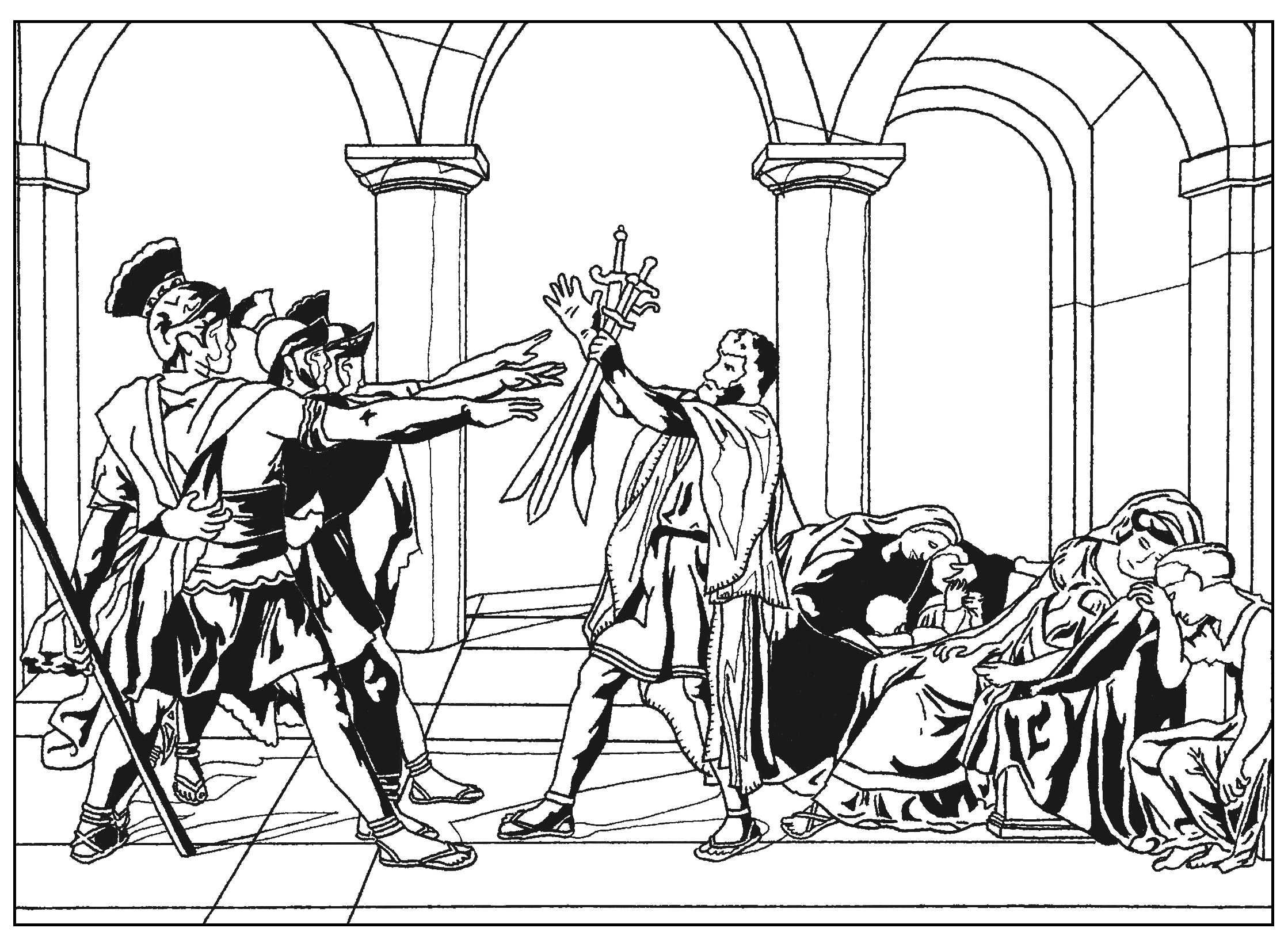 Renaissance Art Coloring Pages at GetDrawings.com   Free for ...