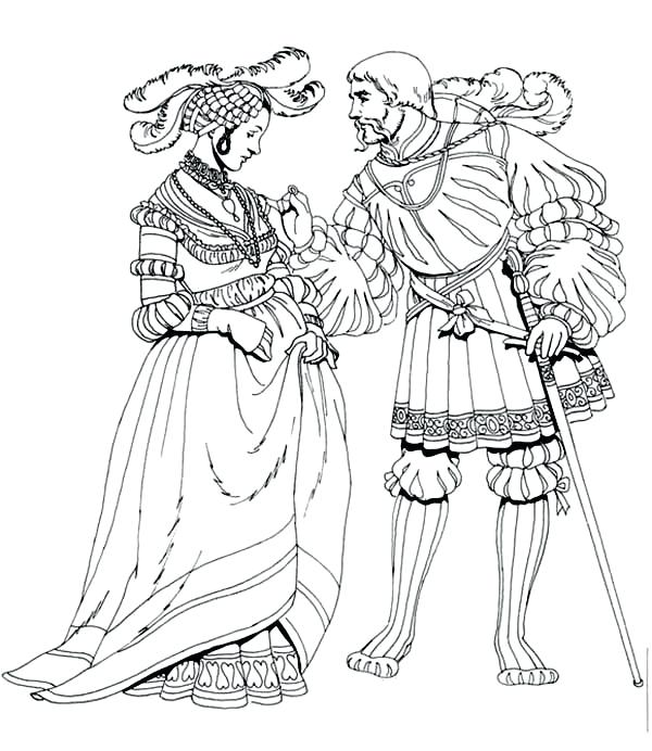 The best free Renaissance coloring page images. Download ...