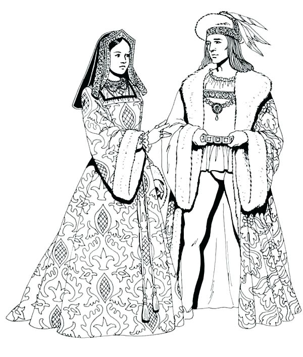 Renaissance Coloring Pages At Getdrawings Com Free For Personal