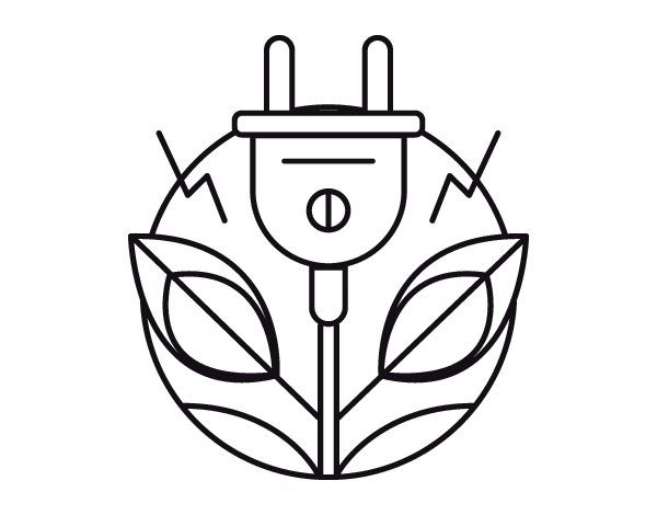 600x470 Renewable Energy Coloring Page