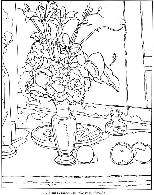 Renoir Coloring Pages