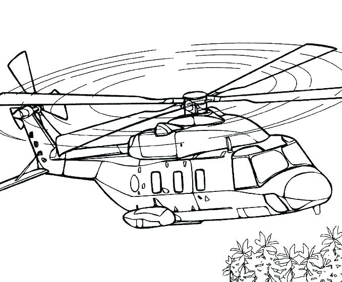 Rescue Helicopter Coloring Pages At Getdrawings Free Download