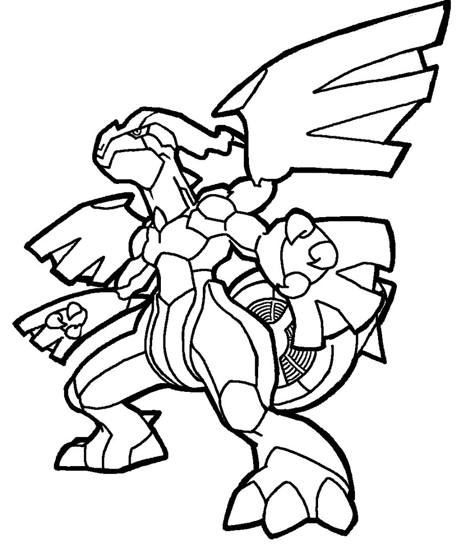 900x1062 Bold Idea Pokemon Coloring Pages Black And White Zekrom