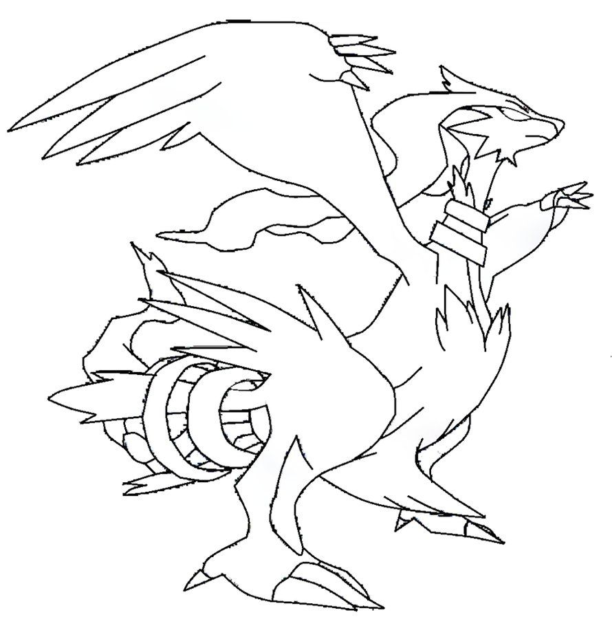 The Best Free Reshiram Coloring Page Images Download From 36 Free