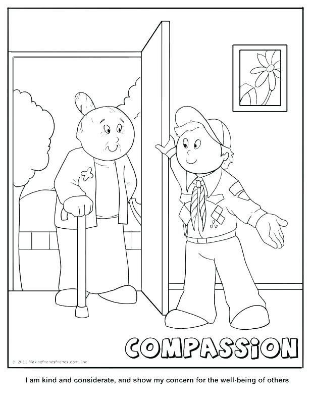 618x800 Tiger Cub Scout Coloring Pages Cub Scouts Coloring Pages Respect