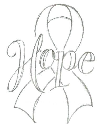 400x482 Respiratory System Coloring Page Cancer Ribbon Coloring Page