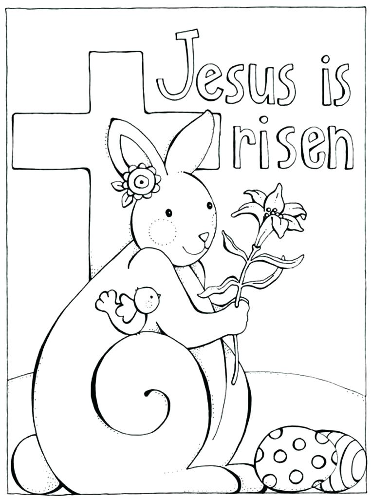 764x1024 Easter Sunday Coloring Pages Free Printable Coloring Pages