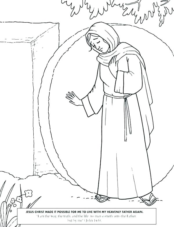 600x780 Jesus Christ Coloring Pages And Lamb In Resurrection Coloring Page