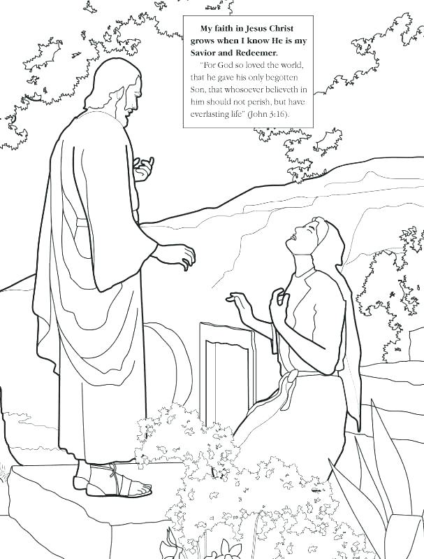 607x799 Lds Coloring Pages Resurrection Coloring Pages Pics Of He Is