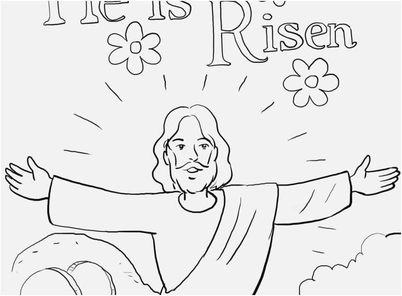 827x609 Preschool Bible Coloring Pages Pictures Resurrection Coloring