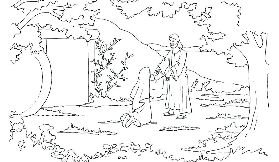891x517 Resurrection Coloring Pages Coloring Template For Kids Crucifixion
