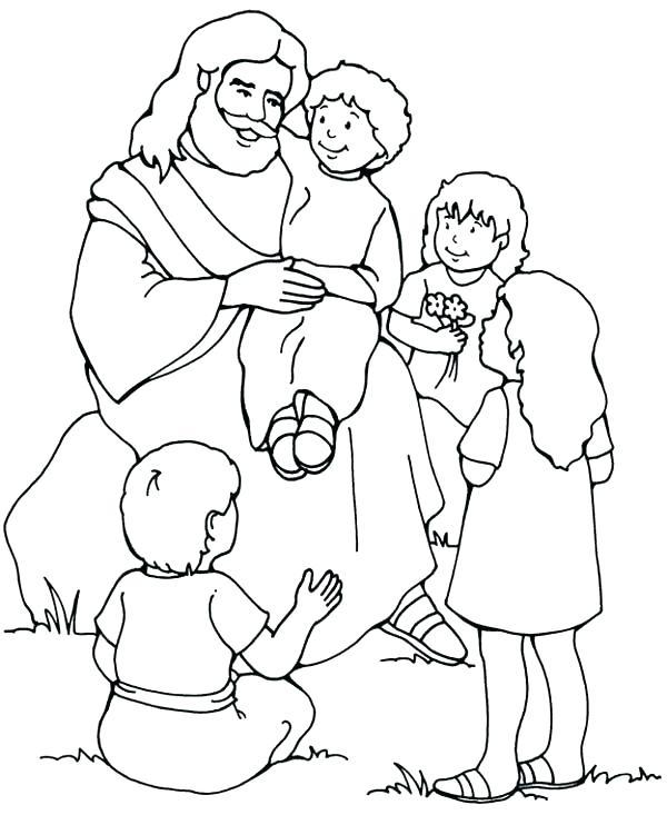 600x742 Jesus Resurrection Coloring Pages