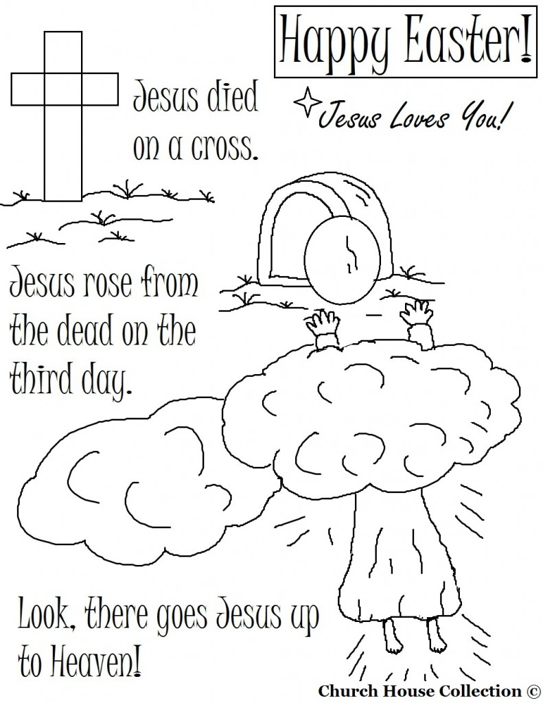 791x1024 Easter Sunday Coloring Pages Happy Easter Day Easter