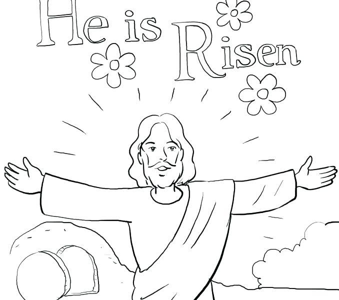 678x600 Easter Sunday Coloring Pages Resurrection Coloring Pages Coloring