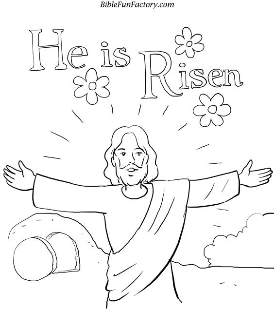 564x636 Easter Sunday Coloring Pages Resurrection Coloring Pages Free
