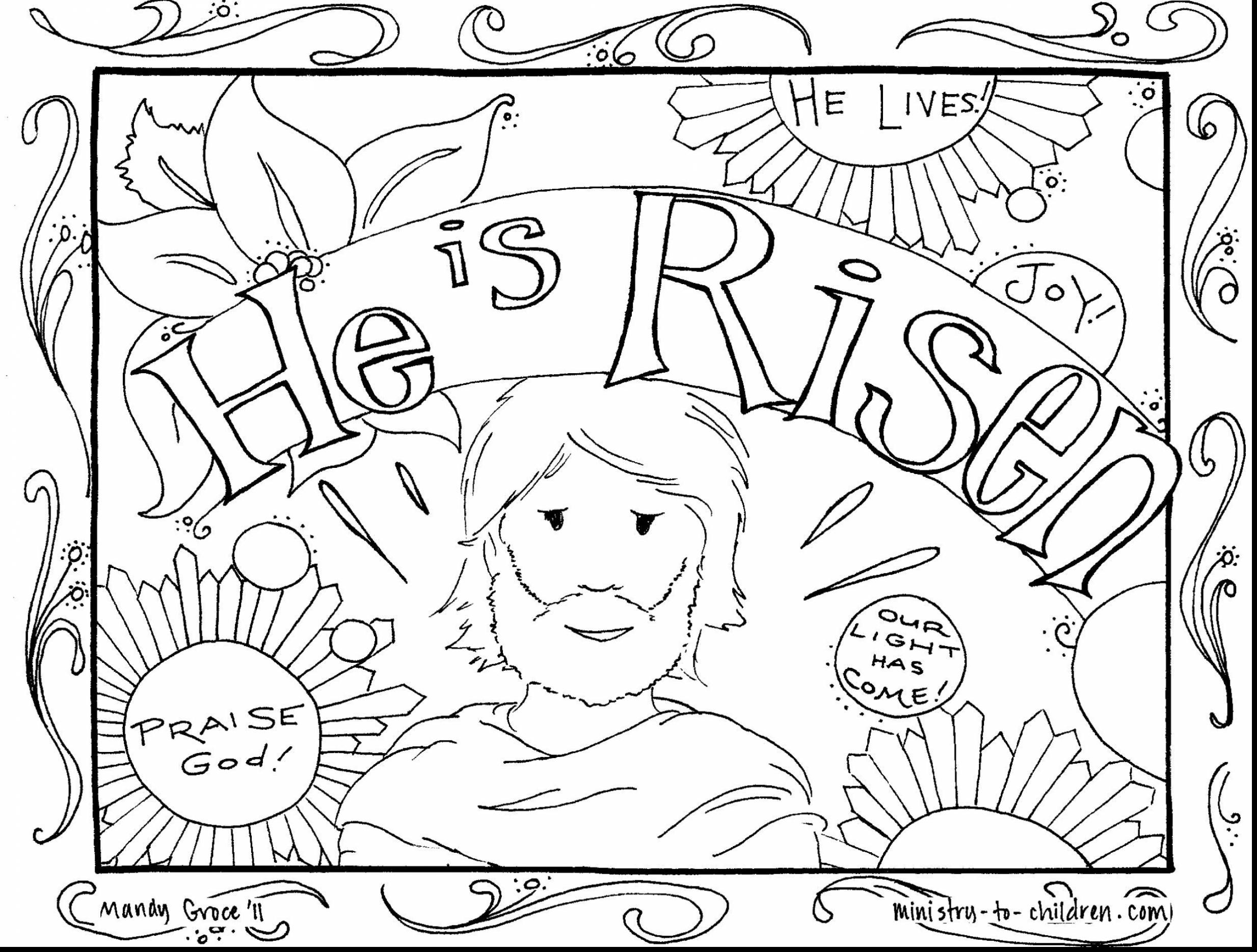 2467x1870 Religious Easter Coloring Pages Within Resurrection