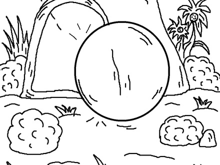 440x330 Resurrection Coloring Pages For Preschoolers, Coloring Pages