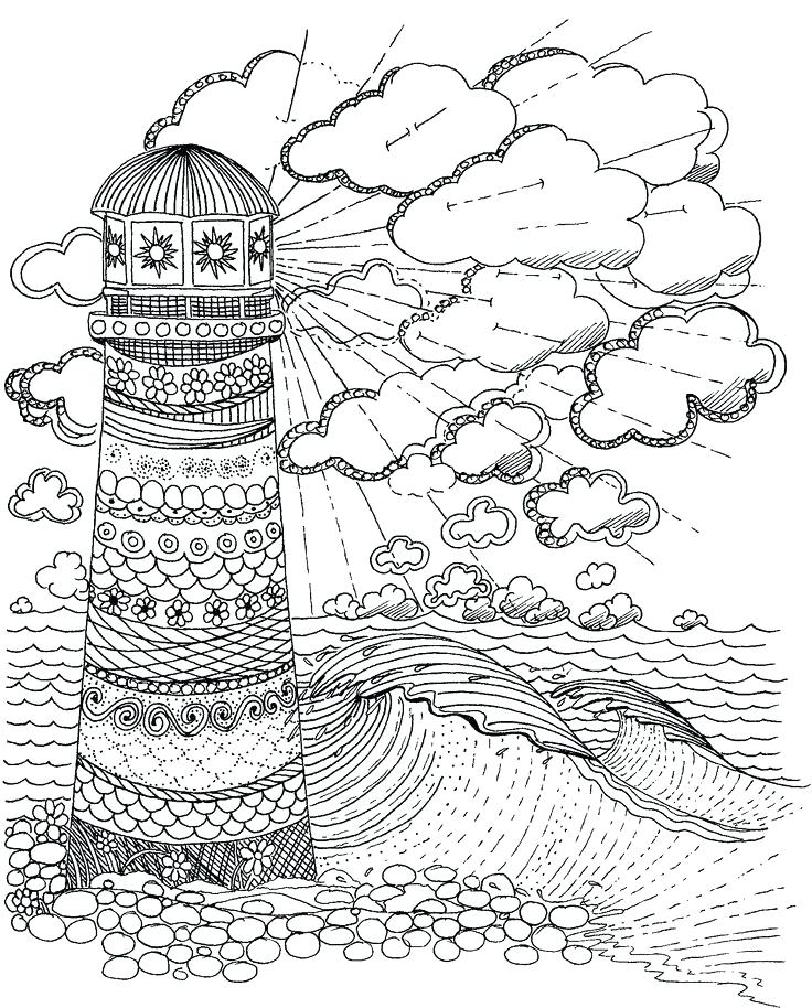 736x914 Lighthouse Coloring Book Pages Lighthouse Coloring Page Coloring