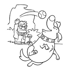 230x230 Top Up Movie Coloring Pages For Your Little Ones