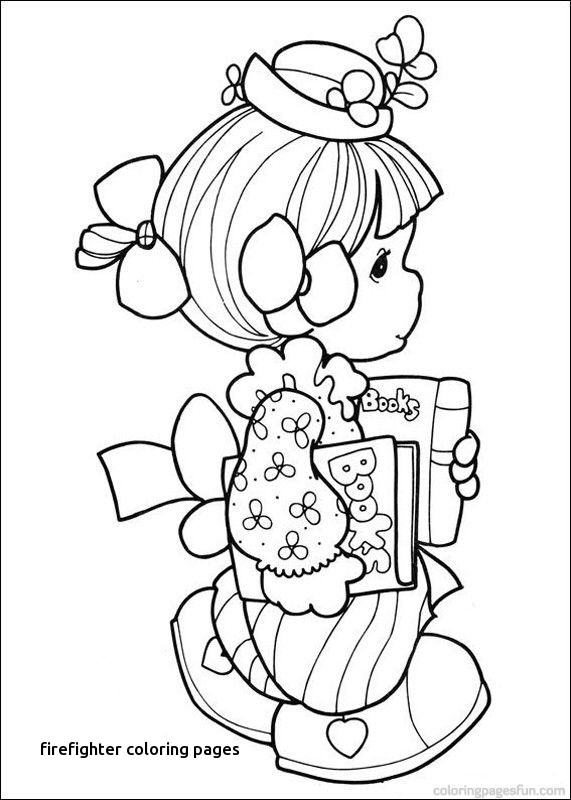 571x800 Beautiful Thank You Firefighters Coloring Pages Sketch