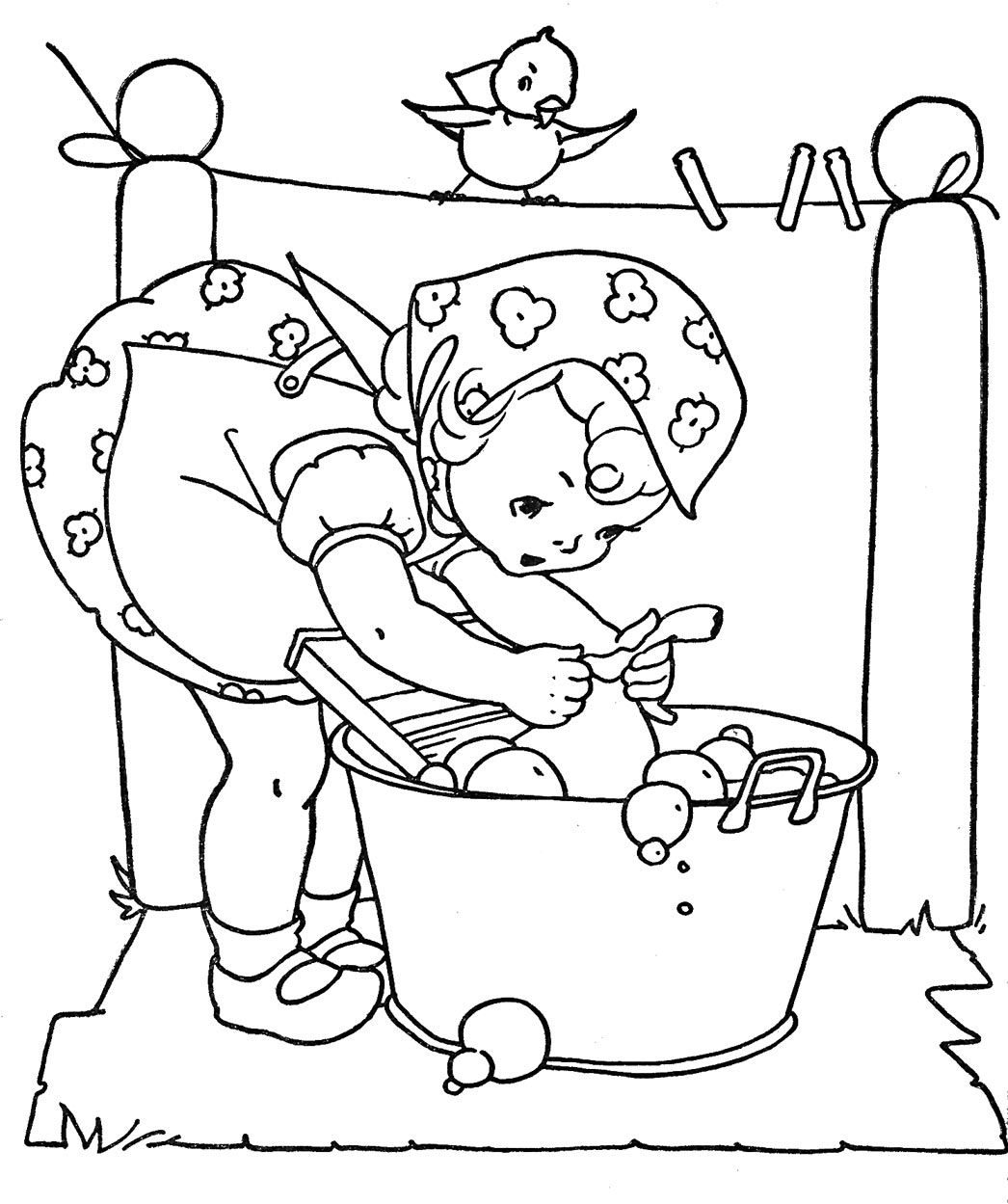 1046x1249 Sweet Printables For Coloring Or Embroidering Q Is For Quilter