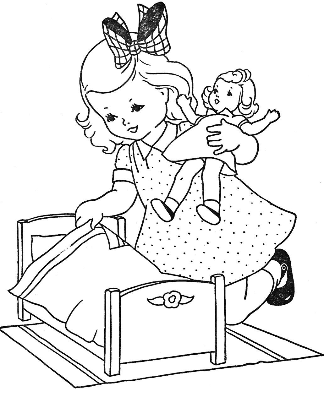 1031x1264 Cute Coloring Pages For Girls And Boys Double Click On Image