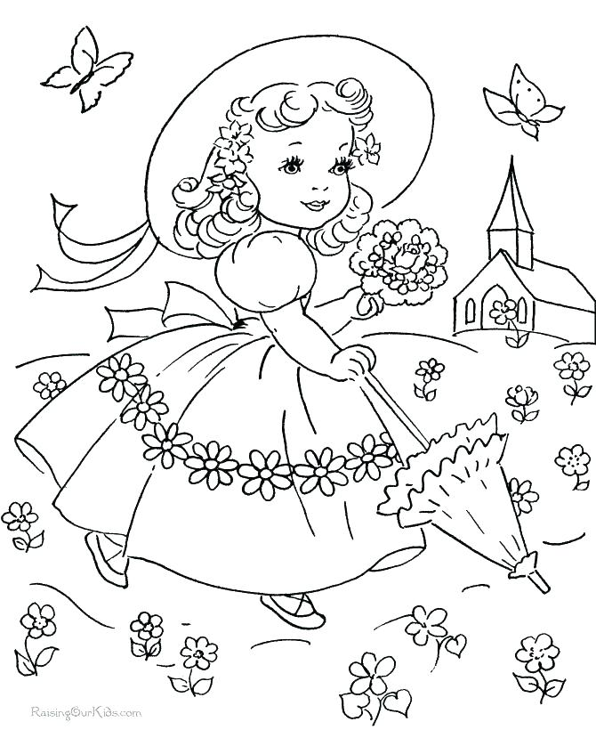 670x820 Vintage Coloring Pages
