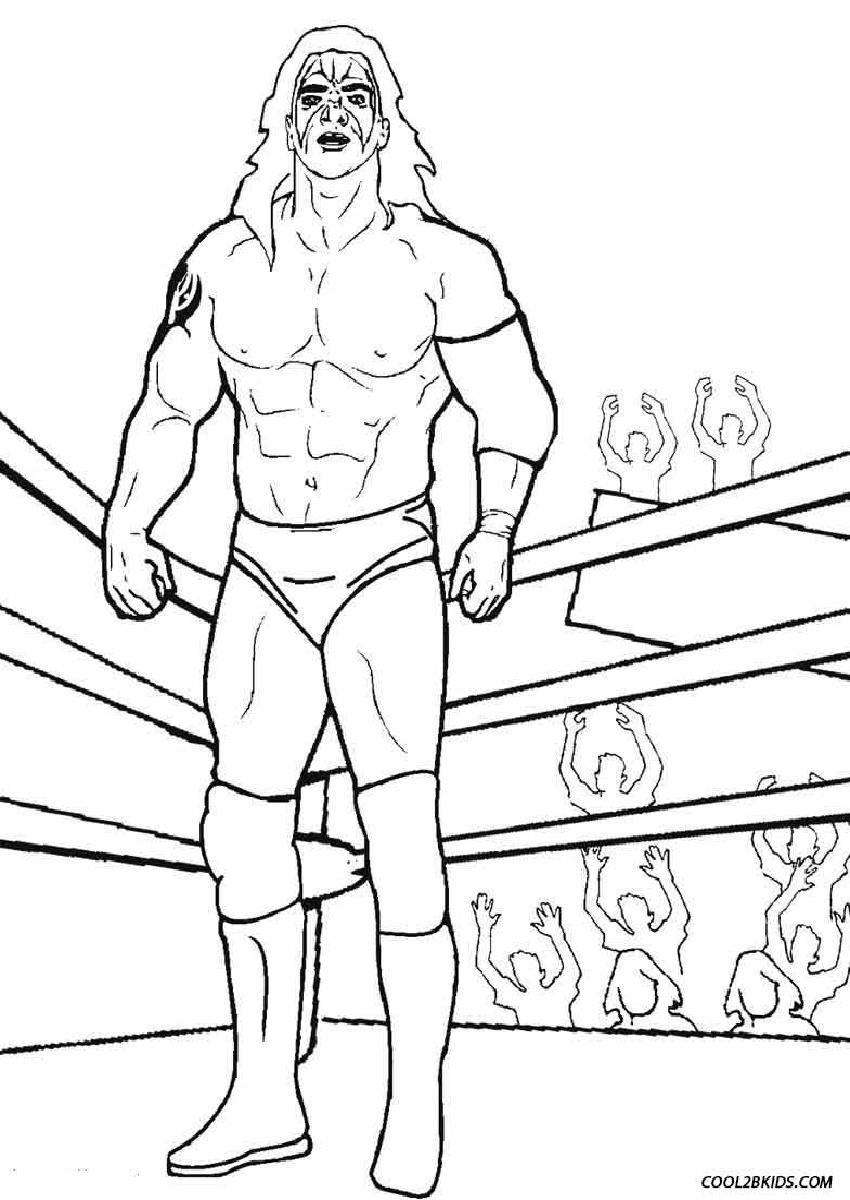 Rey Mysterio Coloring Pages