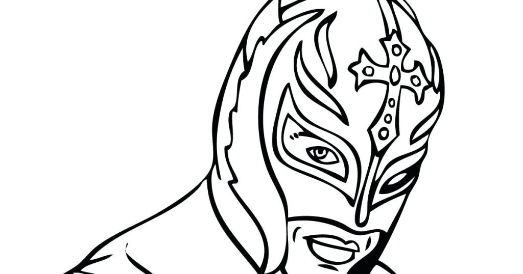 1024x538 Rey Mysterio Coloring Pages