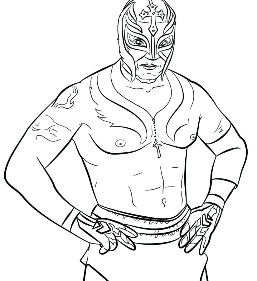 824x900 Rey Mysterio Coloring Pages Elegant John Friends Coloring Pages