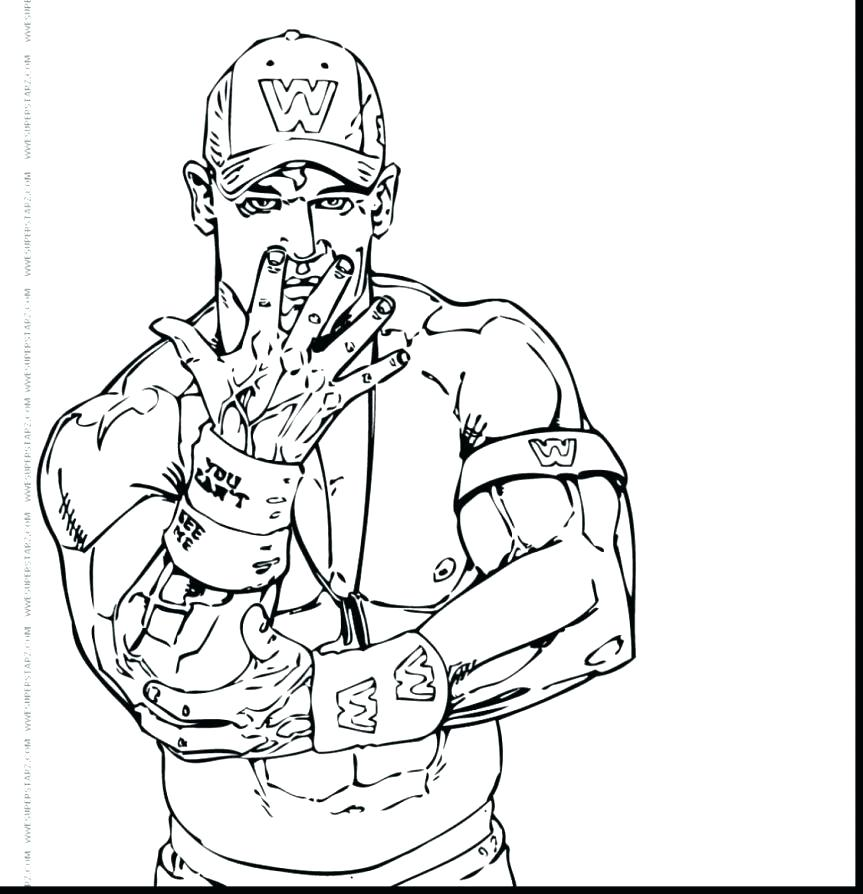 863x894 Rey Mysterio Coloring Pages New Page Color Professional Wrestler