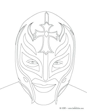 364x470 Rey Mysterio Coloring Pages Sin And Sketches Of For Converted