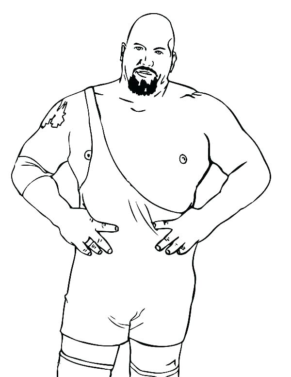 600x776 Rey Mysterio Coloring Pages Wrestling Color Pages Professional