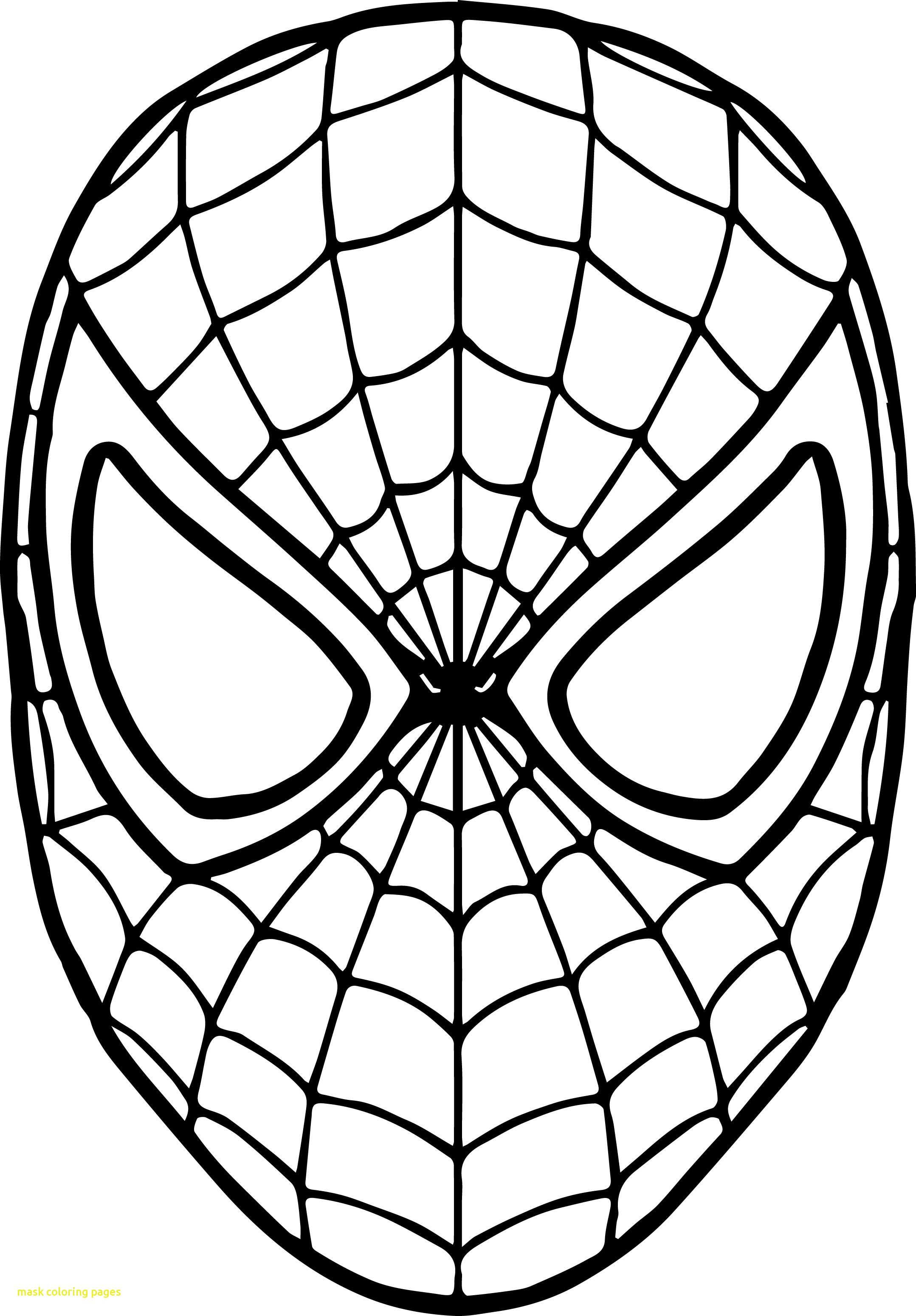 Rey Mysterio Mask Coloring Pages