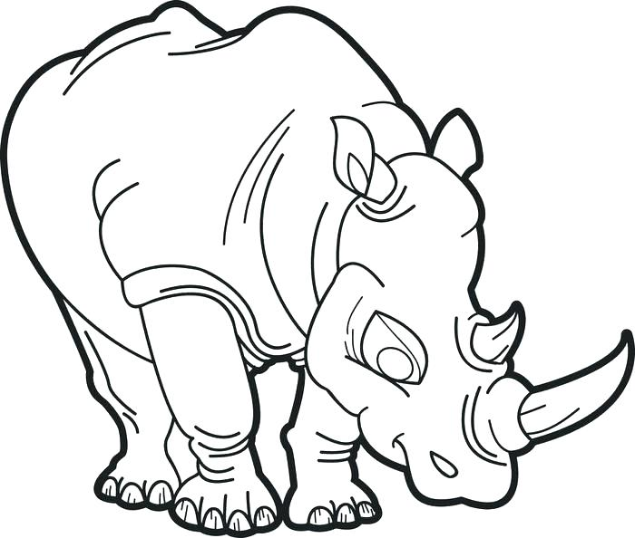 700x594 Rhinoceros Coloring Page Rhino Coloring Pages Rhino Coloring Page
