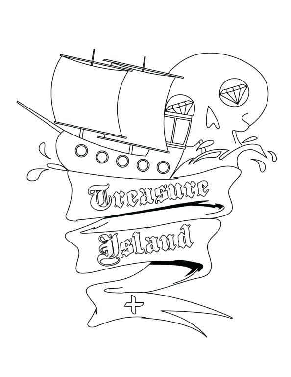 594x768 Island Coloring Page Treasure Island Coloring Page Rhode Island