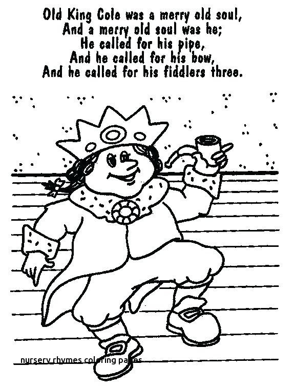 Rhyming Coloring Pages