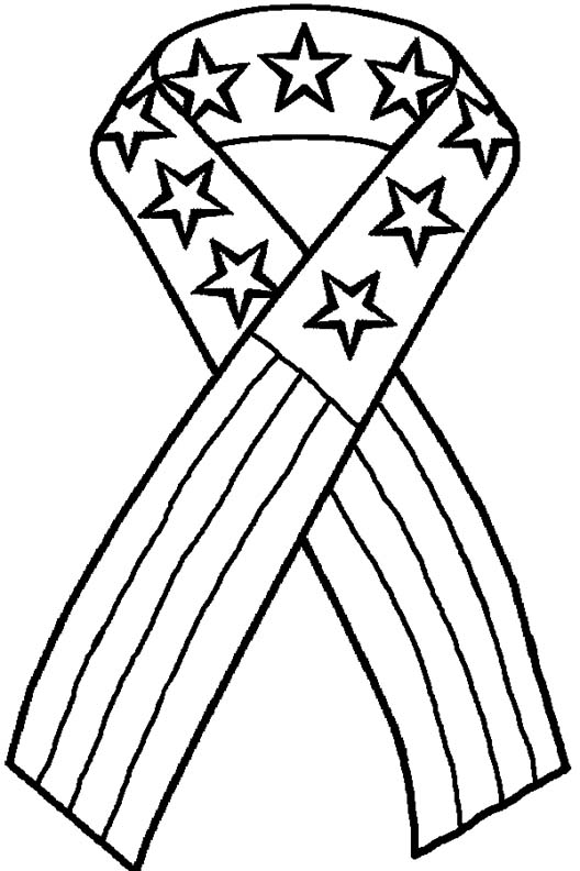528x792 Pink Ribbon Coloring Page Free Download For Pages