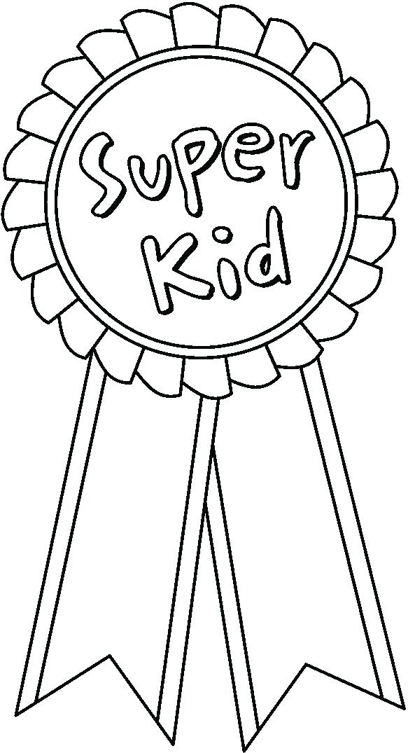 583x1075 Surprising Red Ribbon Coloring Pages Ribbon Coloring Page Packed