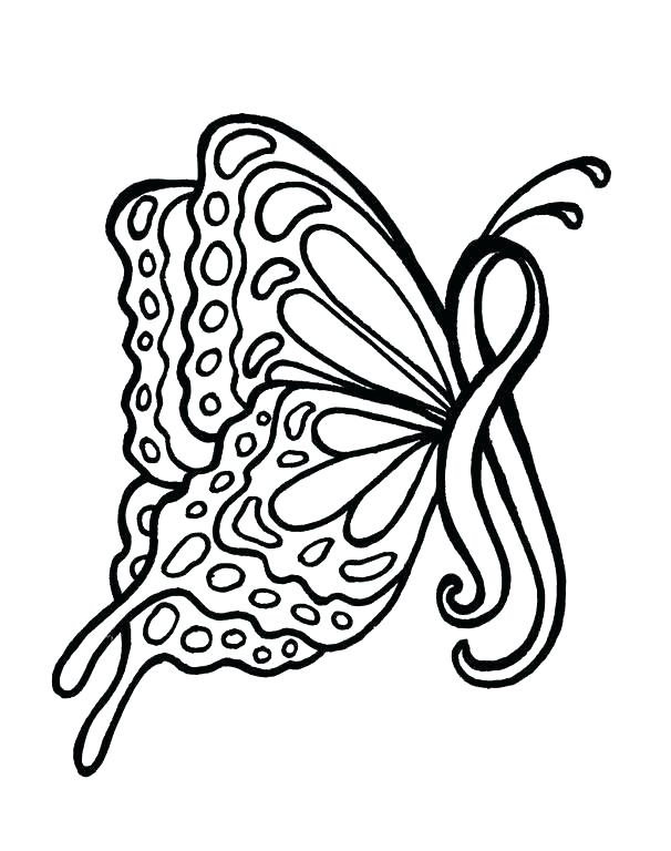 606x768 Breast Cancer Coloring Pages Cancer Ribbon Coloring Page Cancer