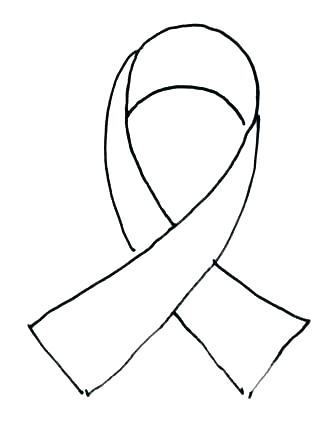 318x432 Breast Cancer Pink Ribbon Coloring Sheet Page Free Download Pages