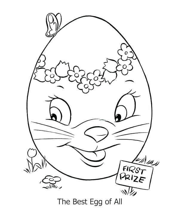 600x734 Coloring Easter Eggs Egg Coloring Pages Of Eggs Plus The Beat