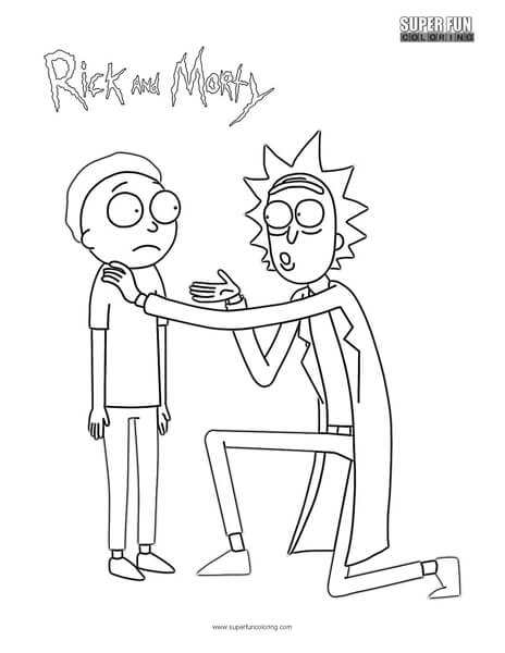 Amazon.com: Rick and Morty Official Coloring Book (9781785655623 ... | 600x464
