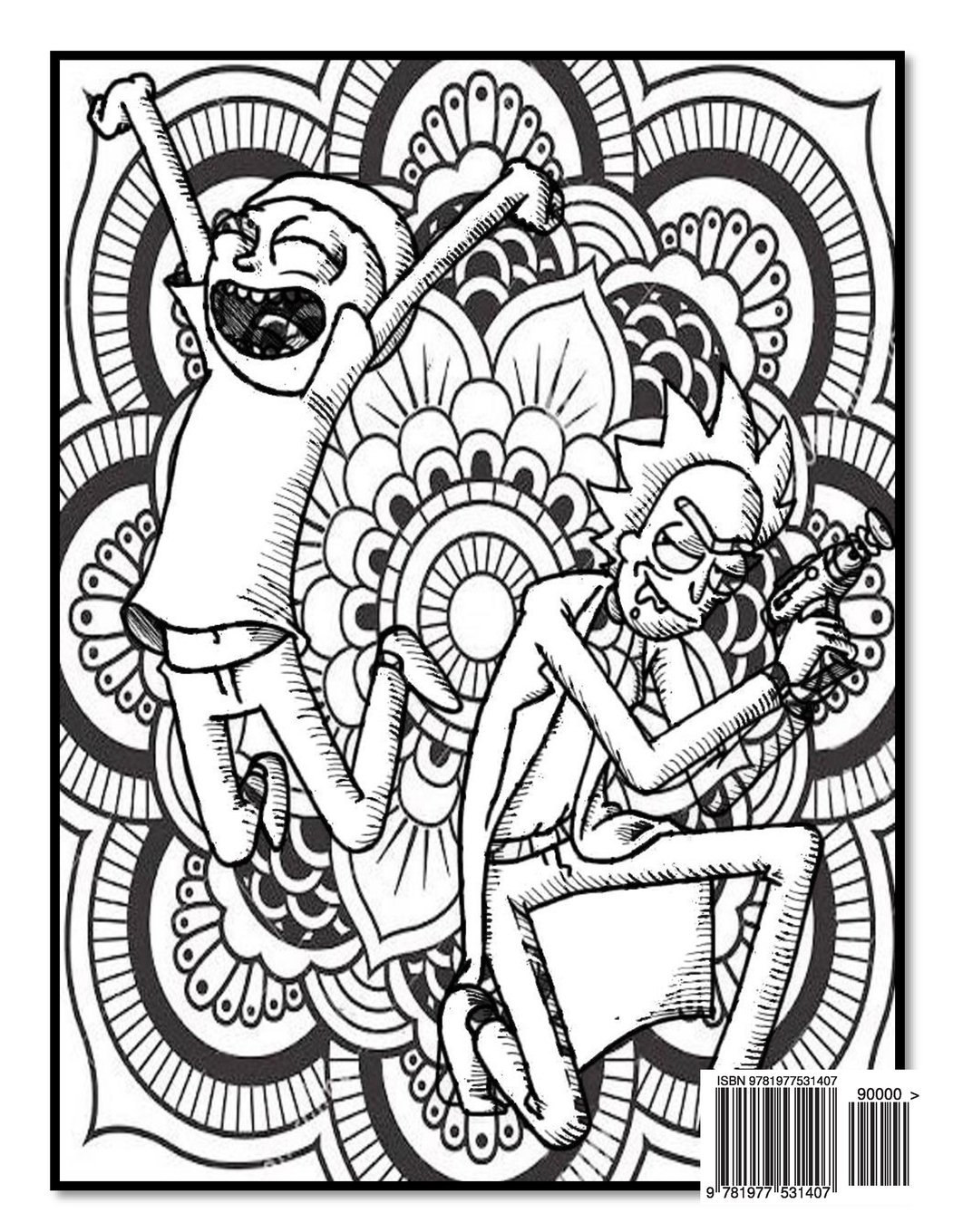 Rick And Morty Coloring Pages at GetDrawings   Free download