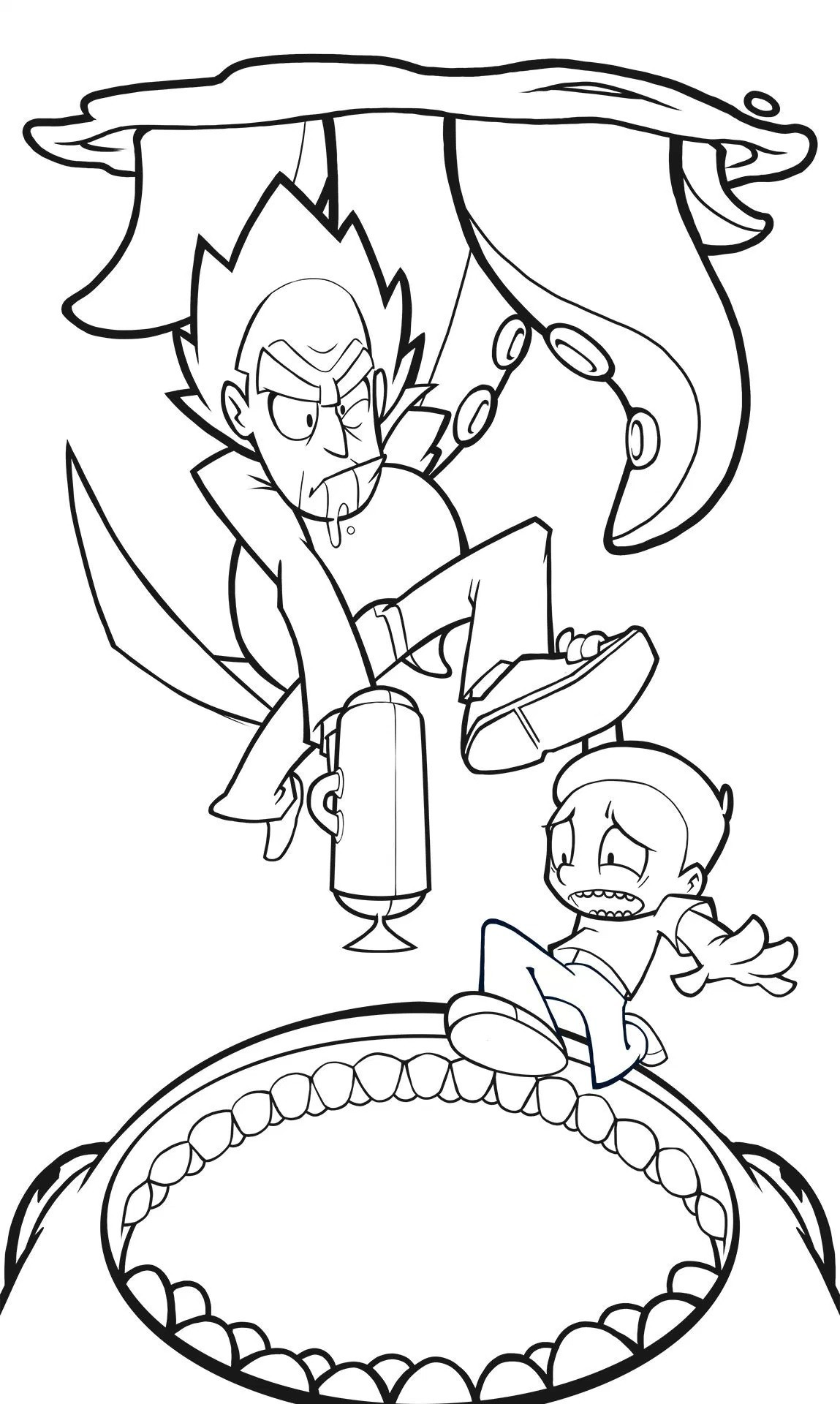 1149x1920 Fresh Coloring Pages Rick Morty Fresh Harvey Lanot Rick